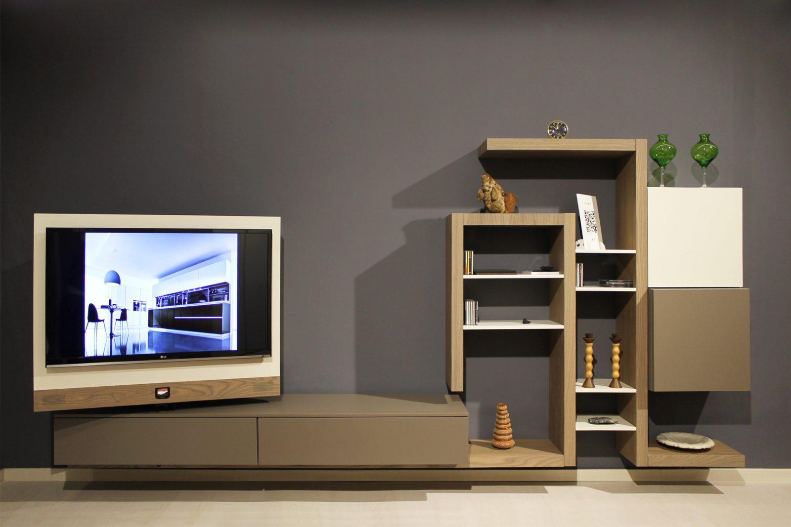 Soggiorno con porta tv rack radaelli arredamenti - Soggiorno porta tv ...