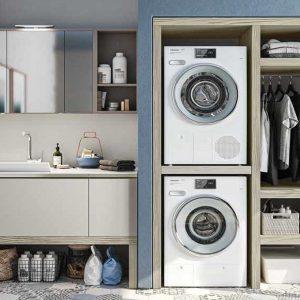 colonna lavatrice e asciugatrice