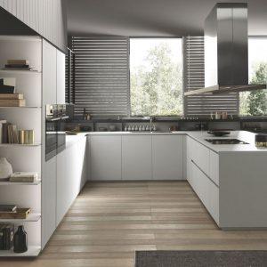 cucine angolare laccata