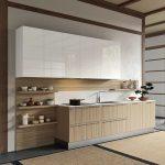 cucina effetto legno