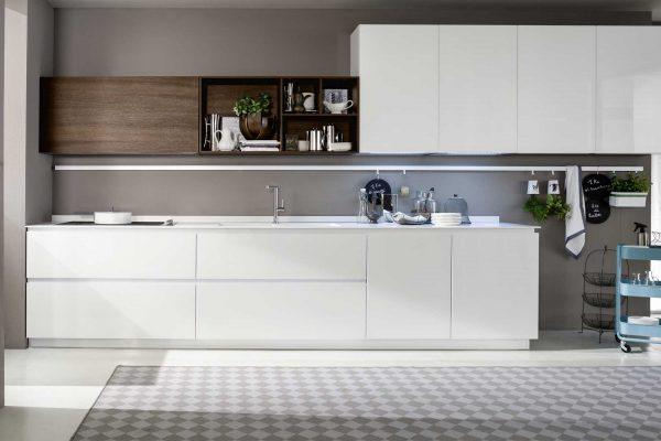 cucina laccata legno