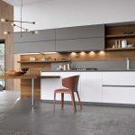 cucina legno scuro