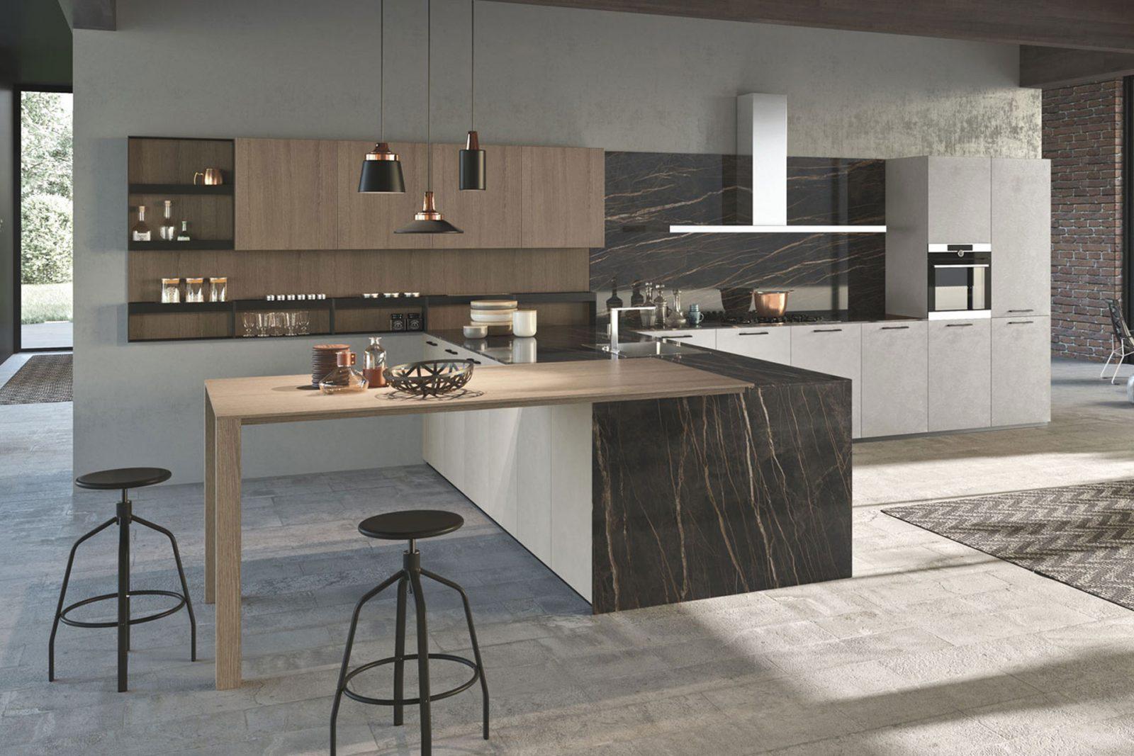 Cucine penisola design cucine moderne cucine design for Cucina penisola