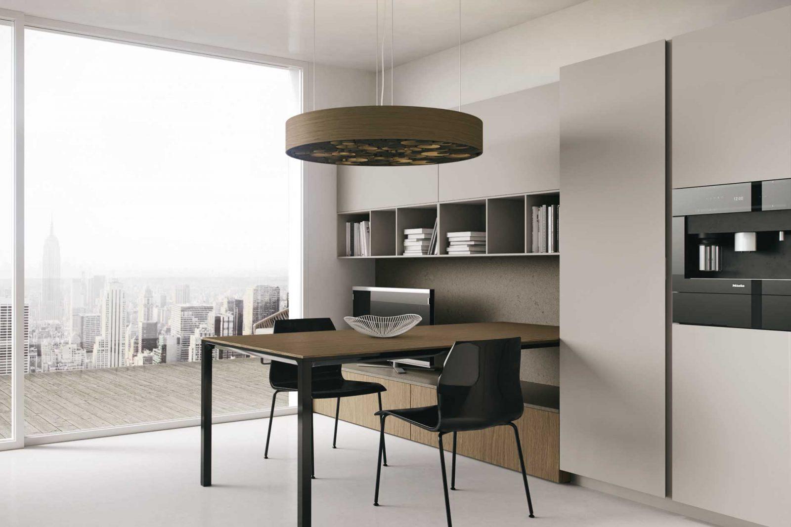 Cucine lineari legno , cucina legno, cucina design, Radaelli ...