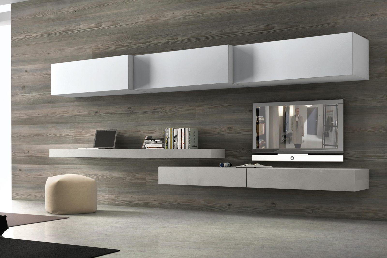 Moduli sospesi soggiorno, soggiorni componibili, pareti attrezzate