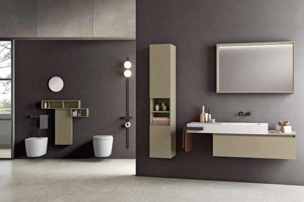 lavandino bagno con mobile