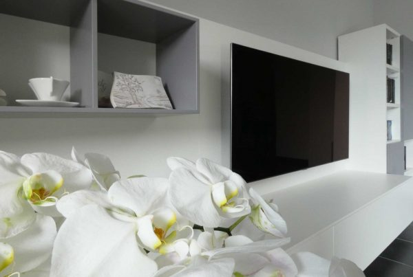 arredare zona living elegante