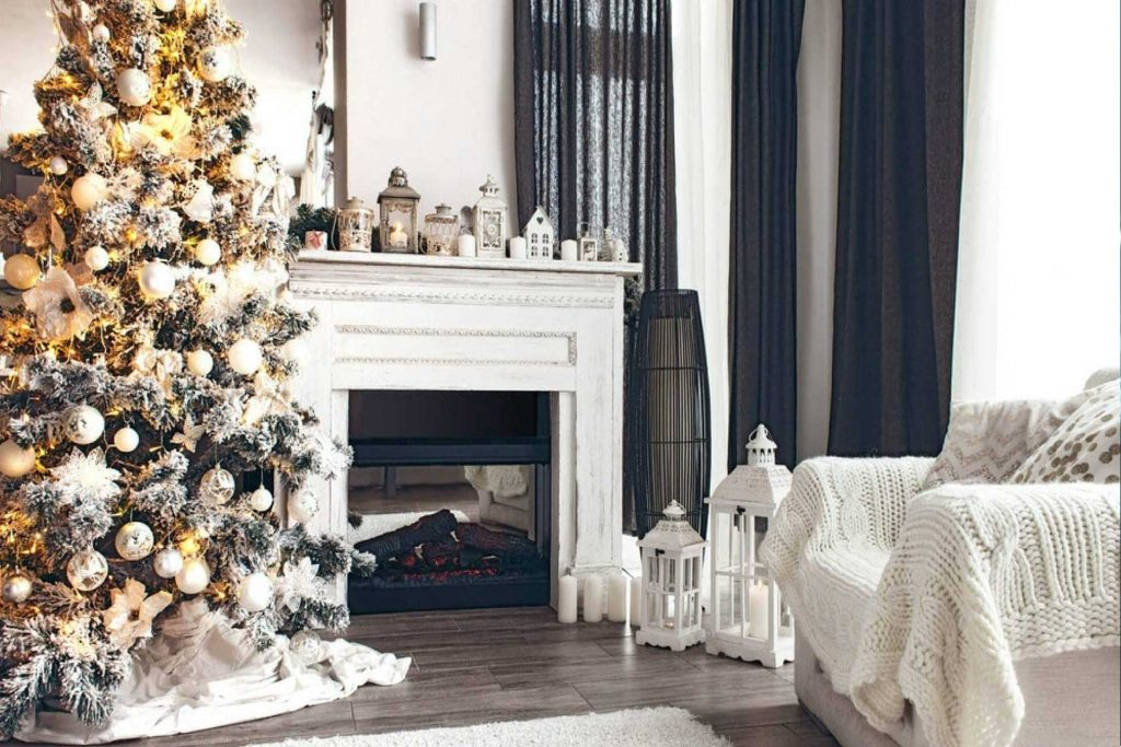 casa in ordine a natale