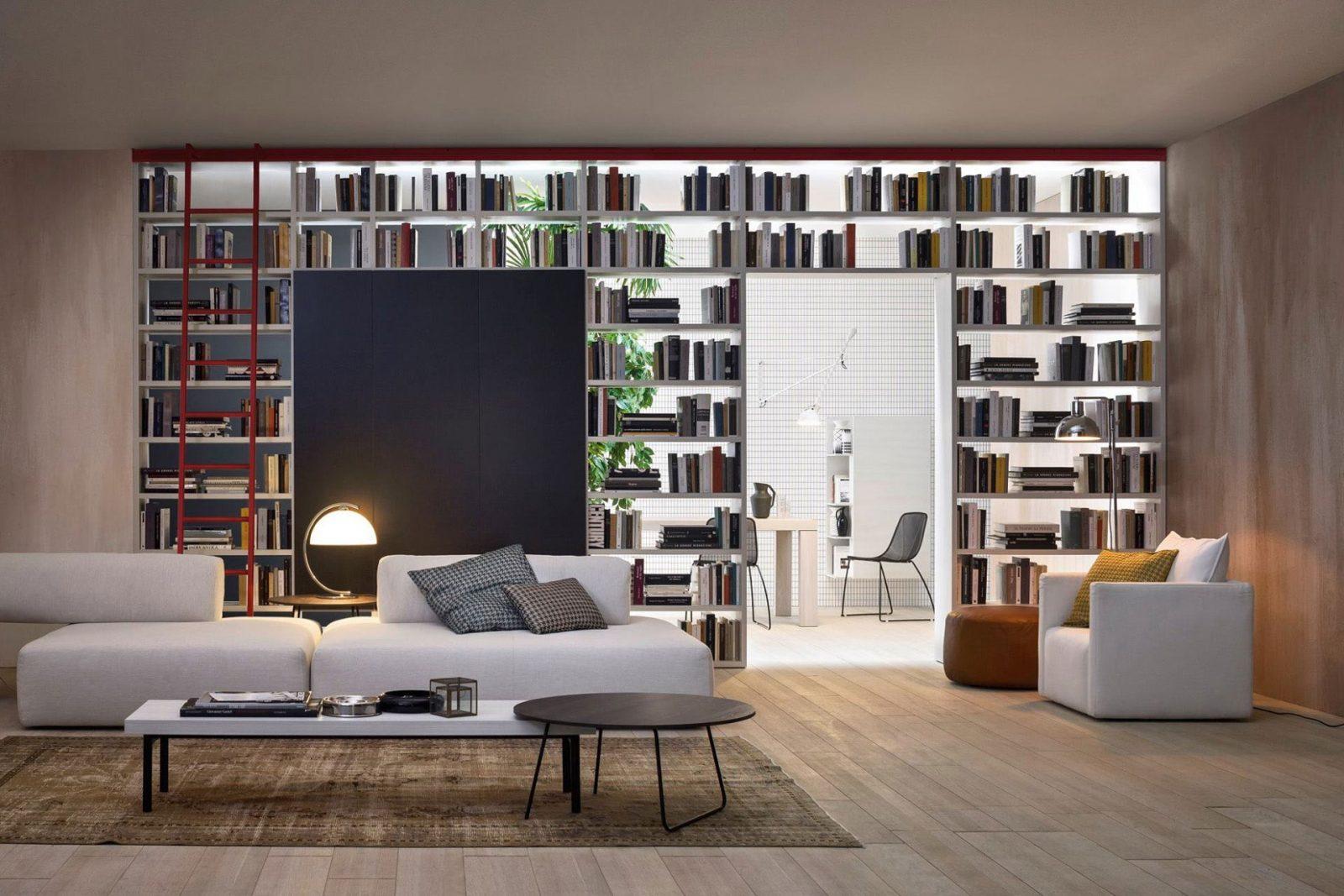 Librerie Componibili A Ponte.Librerie Bifacciali Librerie Su Misura Librerie Componibili