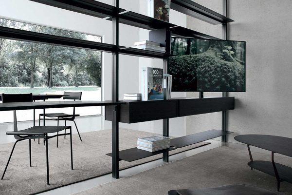 libreria metallo design